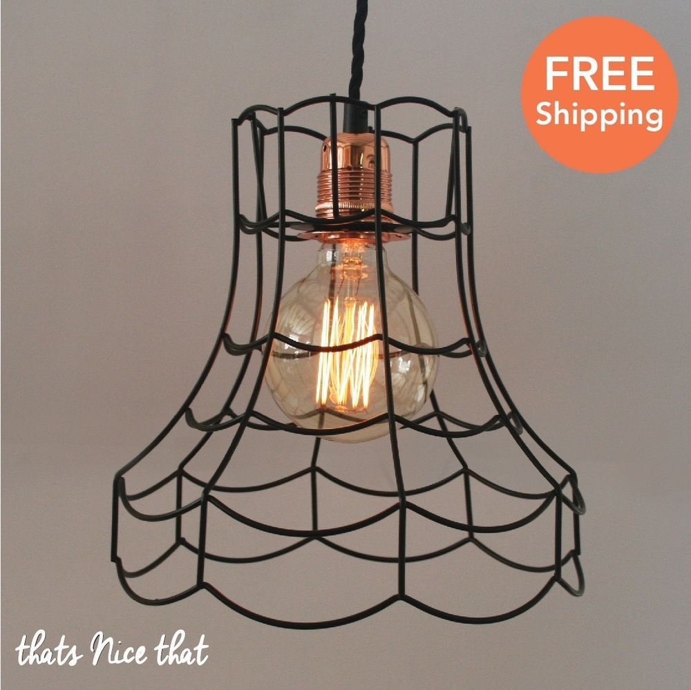 Vintage Wire Lampshade Frame