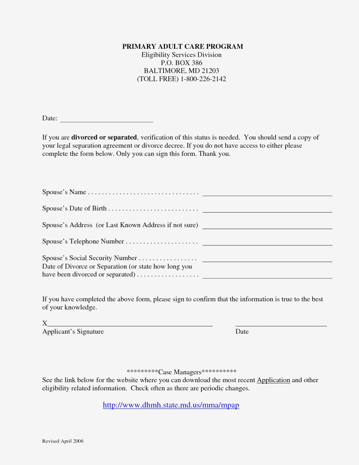 Virginia Separation Agreement Form Free
