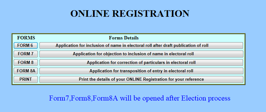 Voters Application Form 6