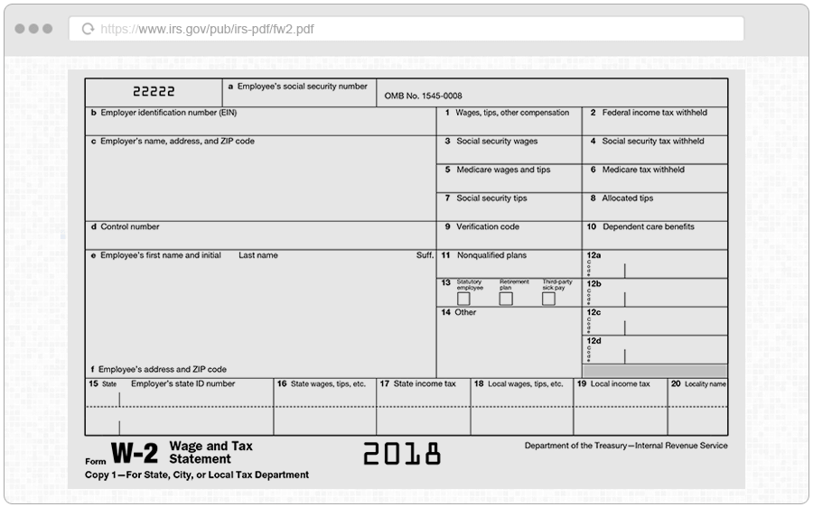 W2 1099 Form Requirements