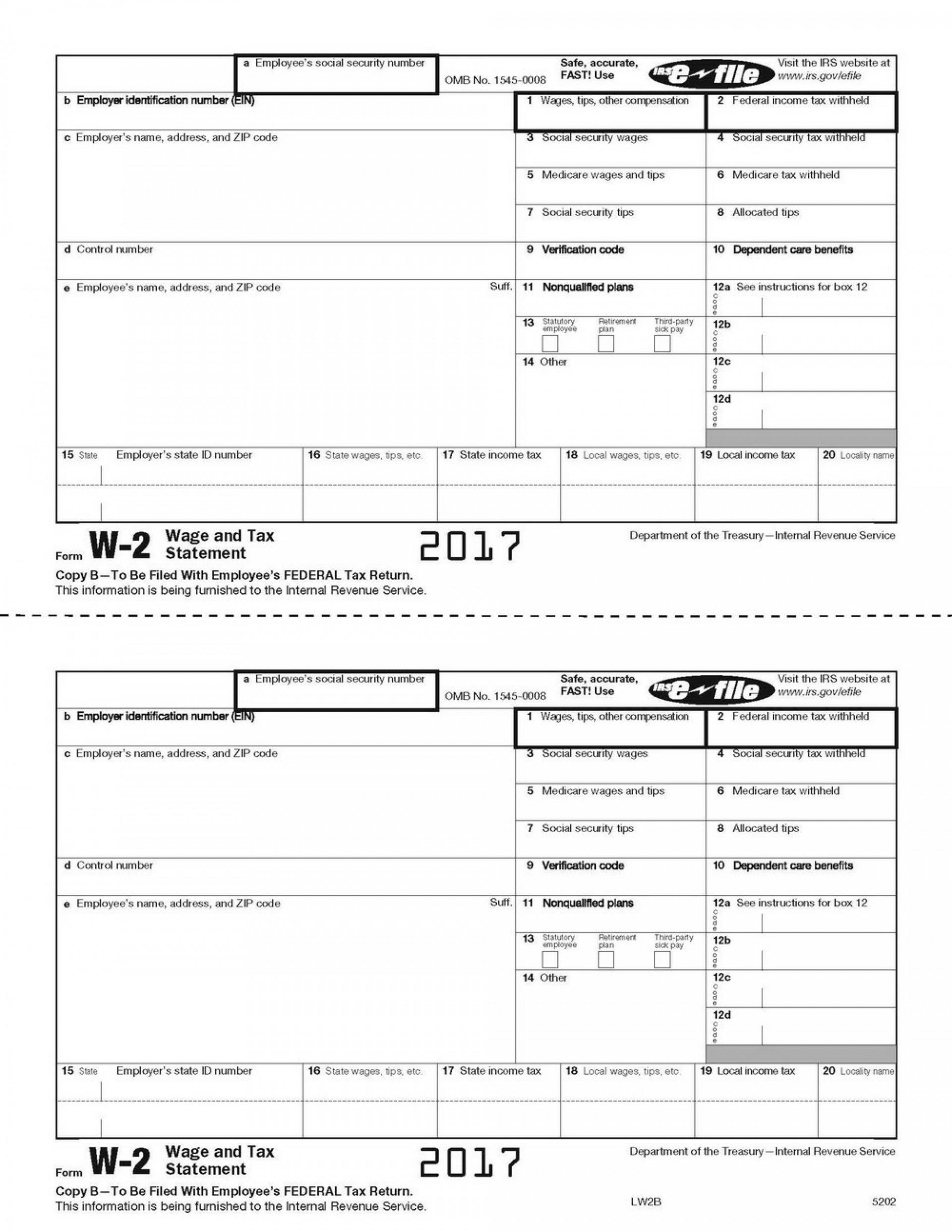 W2 Form Utah Printable