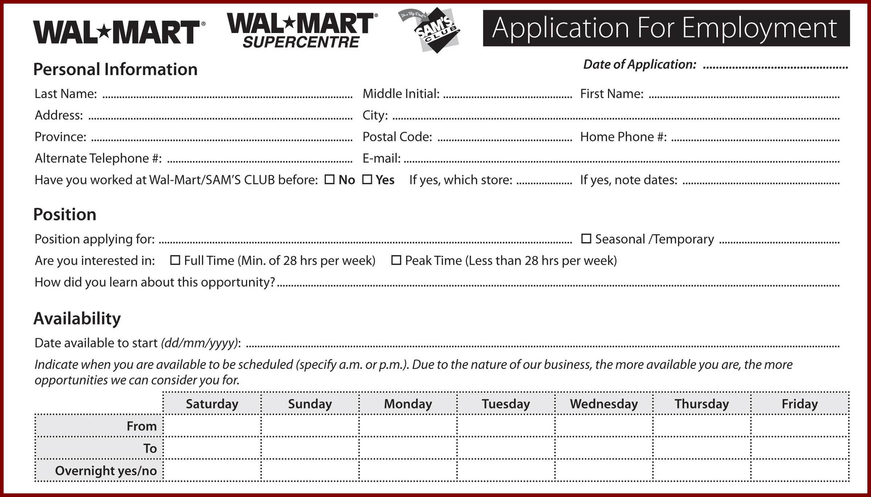 Walmart W2 Former Employee 2017