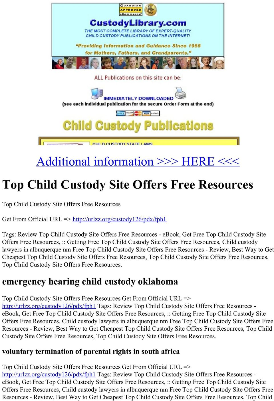 Warren County Ohio Child Custody Forms