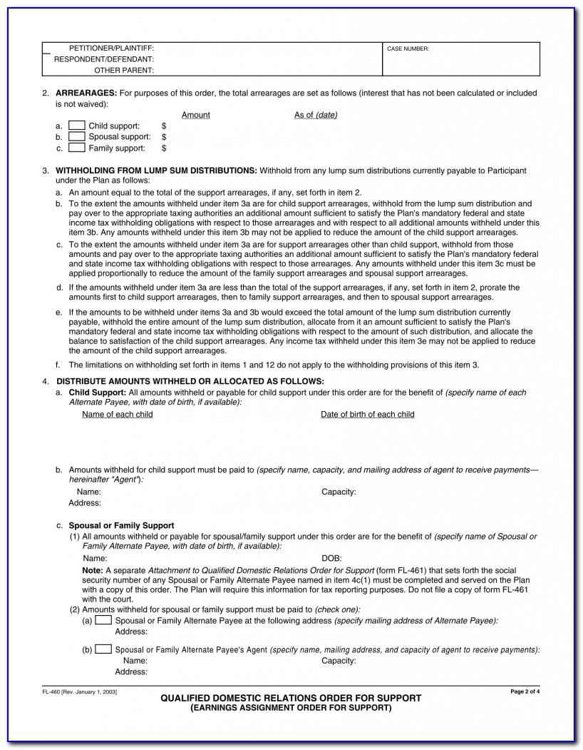 Wells Fargo Qdro Form Free