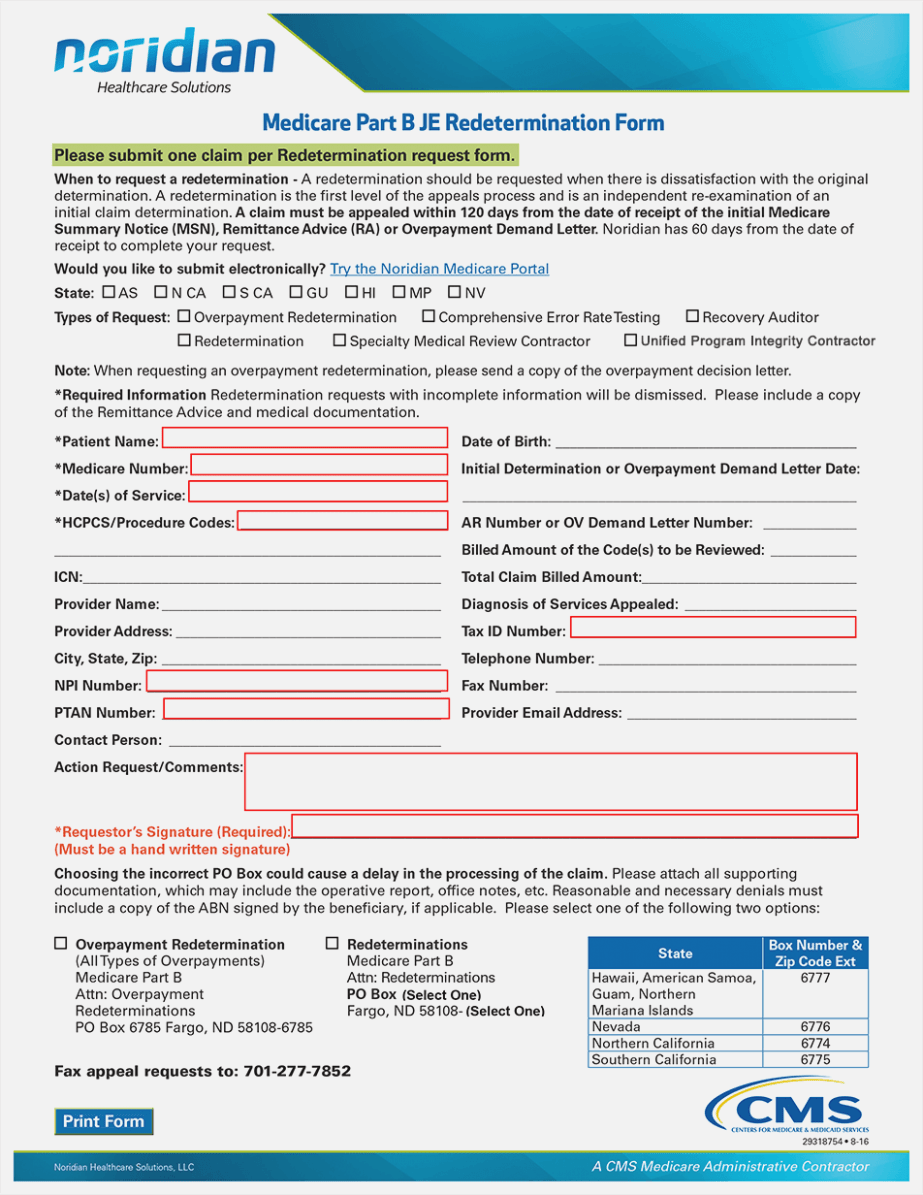 What Is Cms Form 1763