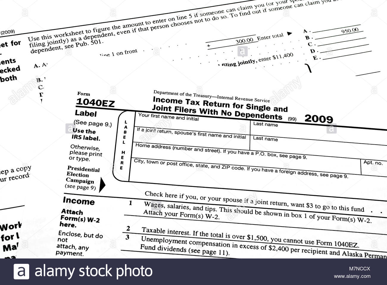 Where Can I Find A 1040ez Tax Form