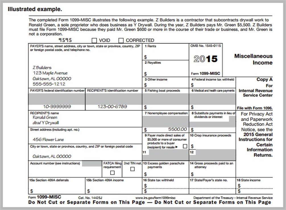 Where Can I Get Irs Form 1099