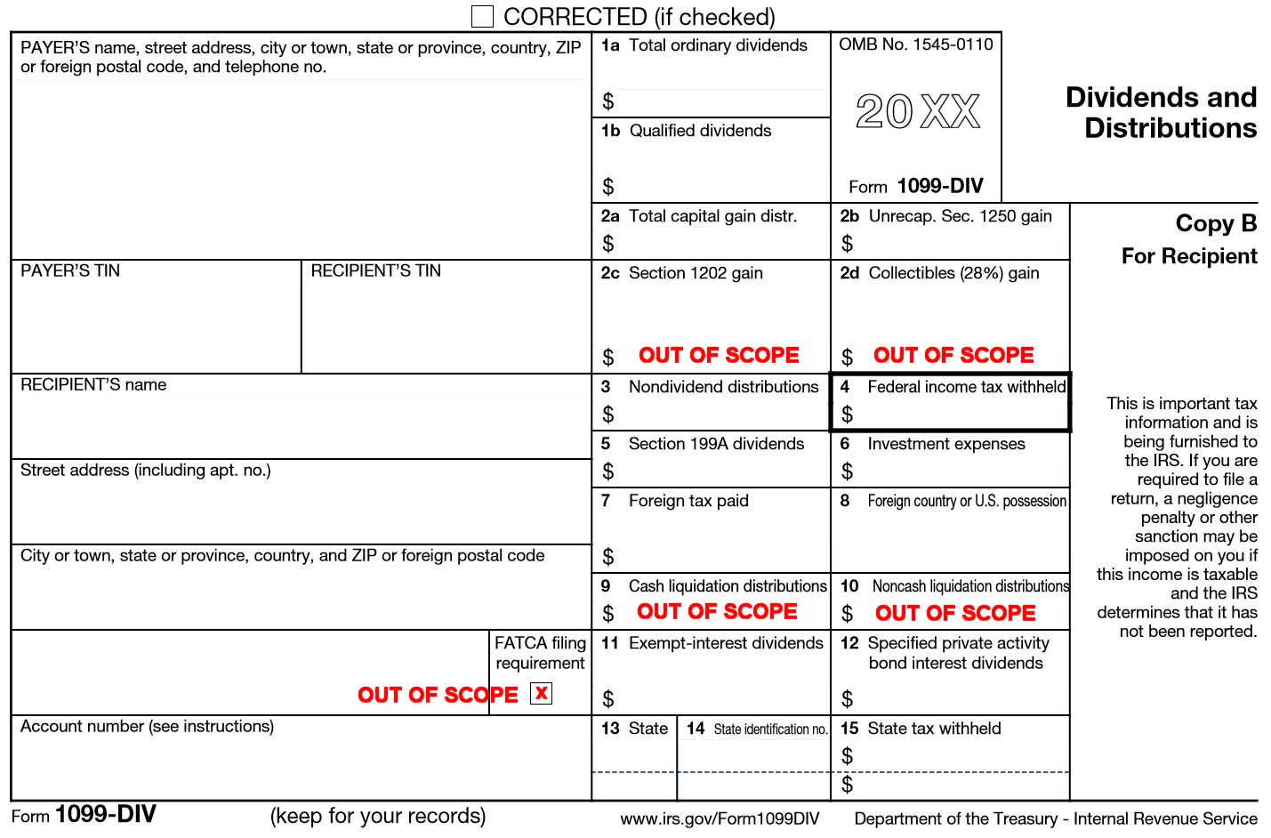 Where To Buy 1099 Div Forms