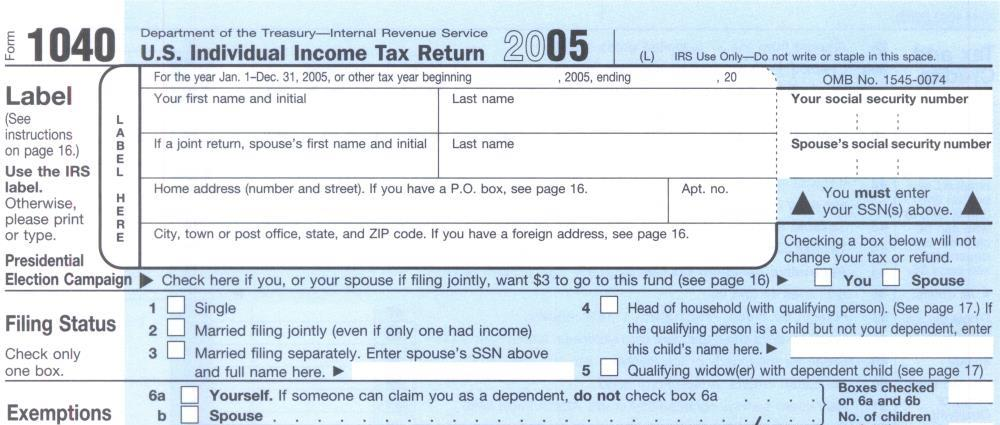 Who Can File Form 1040a Or 1040ez