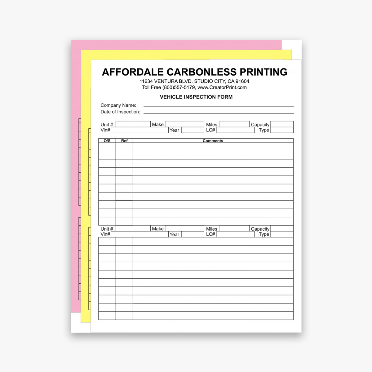Wholesale Carbonless Forms