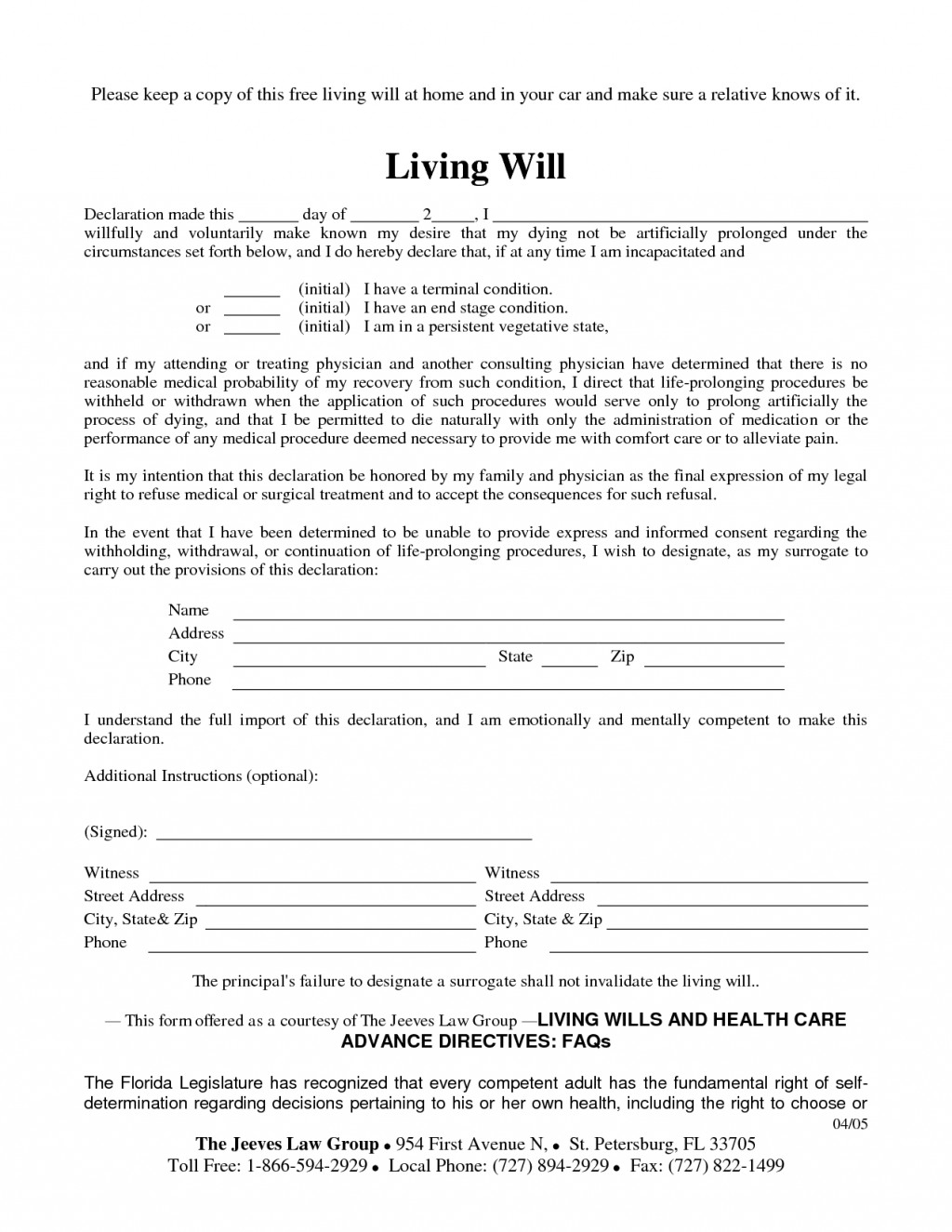Wills And Trusts Forms Free