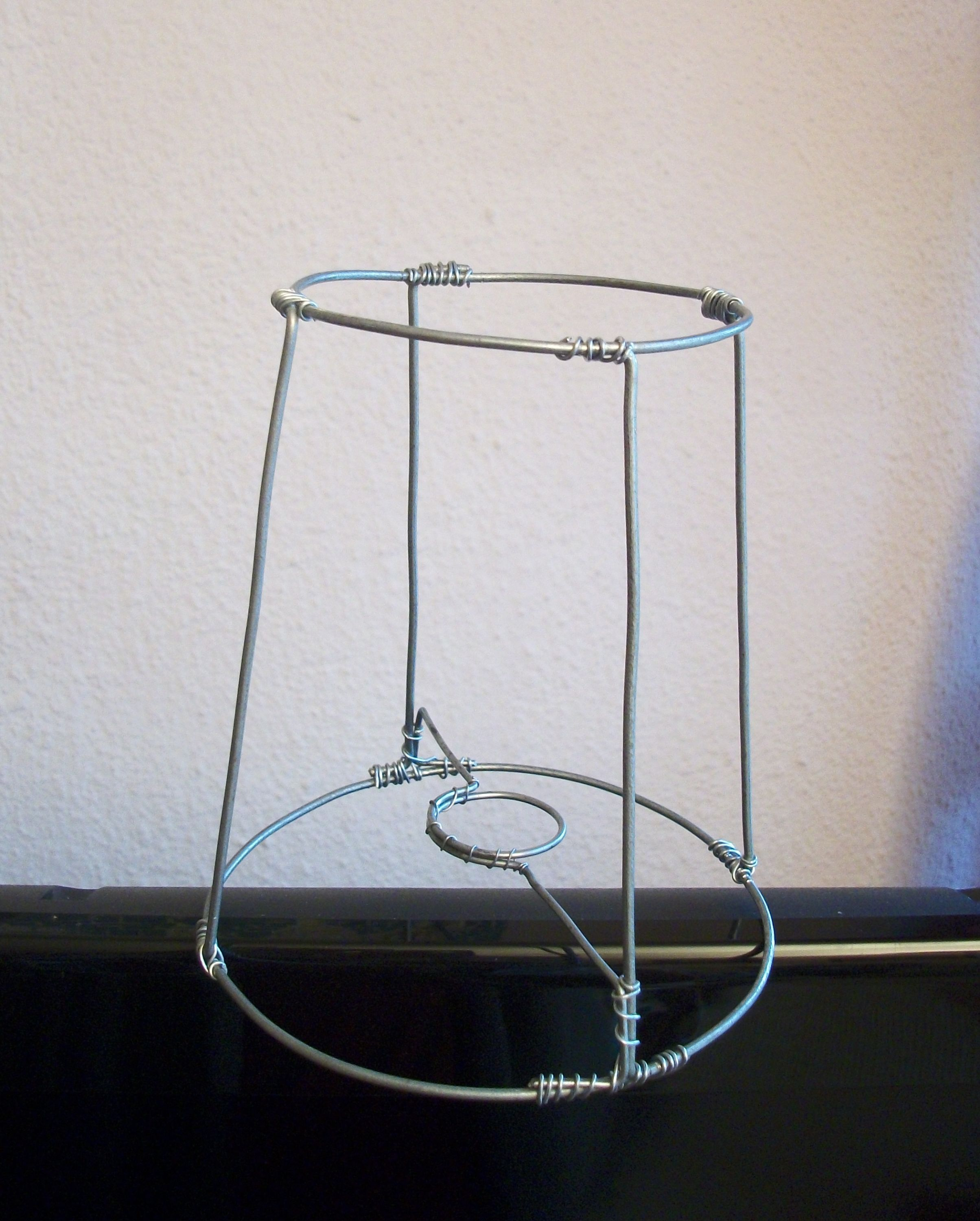 Wire Lampshade Frame