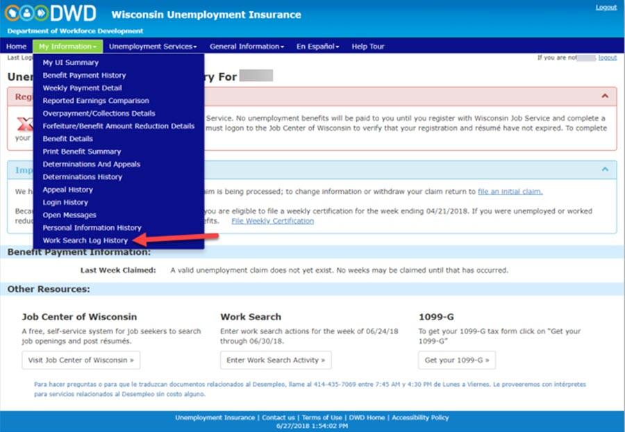 Wisconsin Unemployment 1099 Form