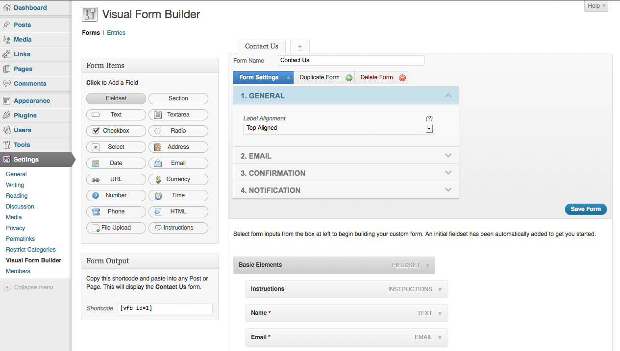 Wordpress Form Builder Plugin Best Free