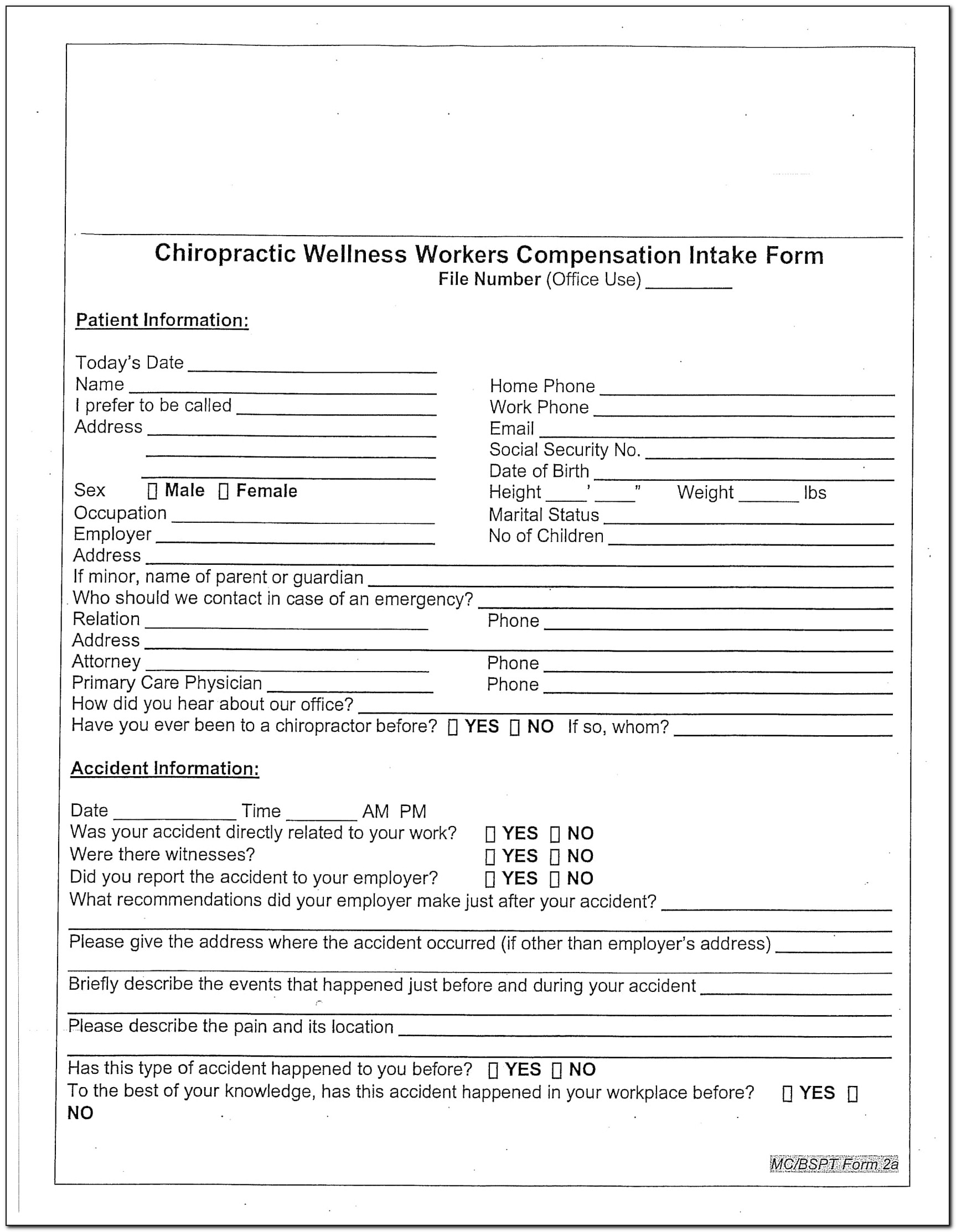 Workers Compensation Application Form Nsw