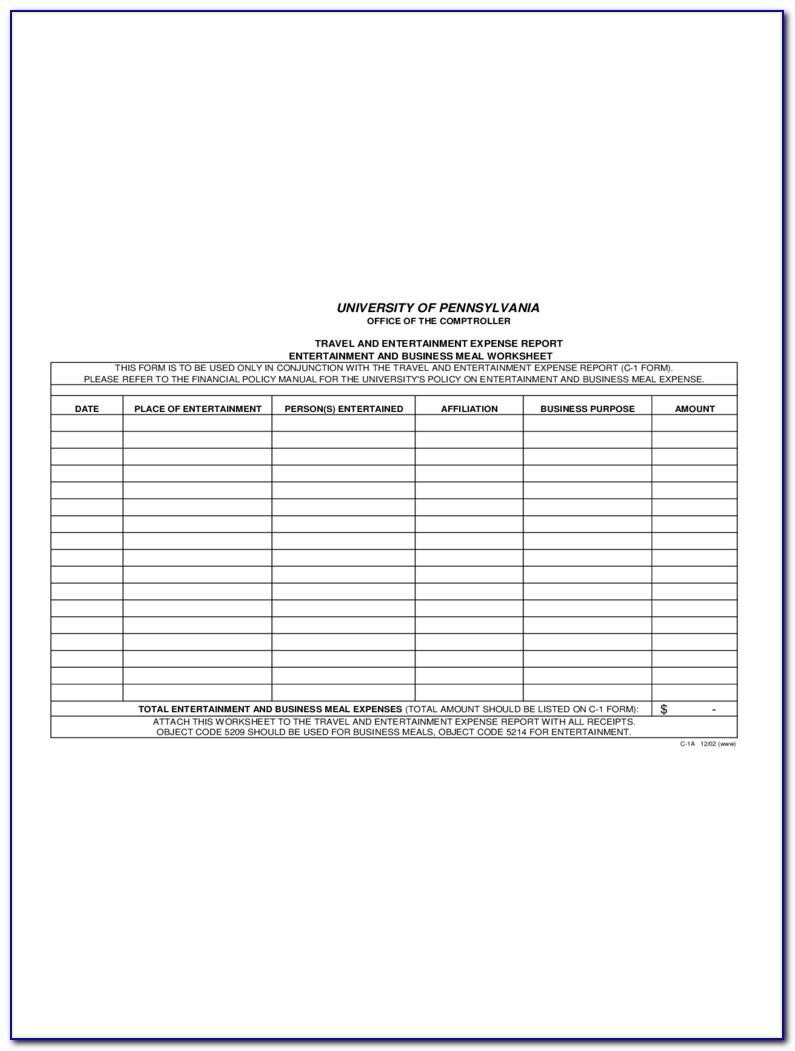 Workers Compensation Mileage Reimbursement Form