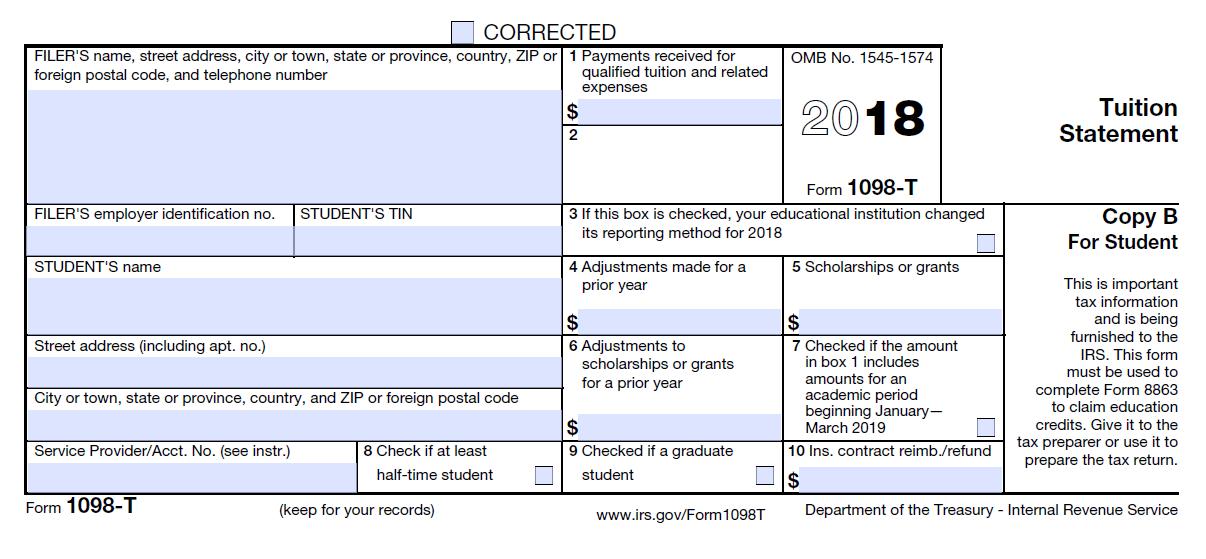 Www 1098 T Form Online
