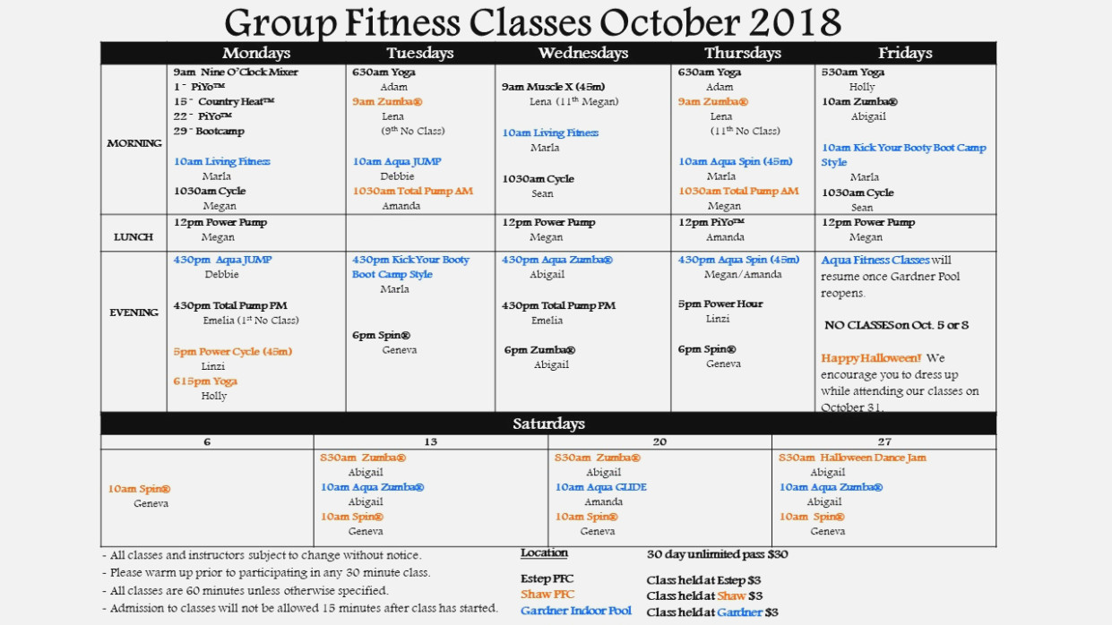 Zumba Fitness Waiver And Release Form