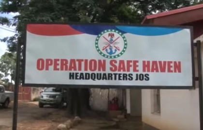 Operation Safe Haven Jos