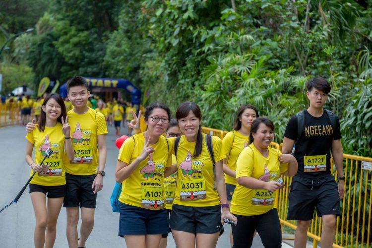 Sponge Bob Run Singapore