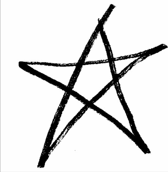 Rough pentagram