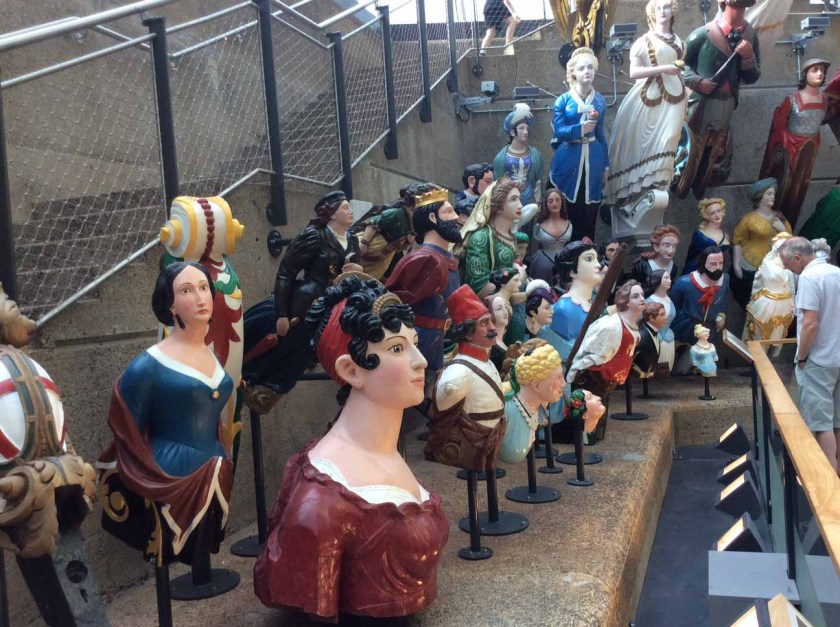 Cutty Sark figurehead collection