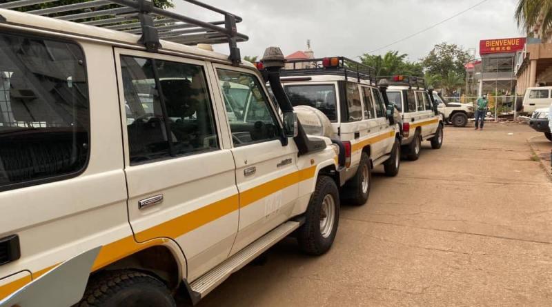 Lutte contre le Coronavirus en Guinée : RIO TINTO offre des véhicules à l'ANSS !