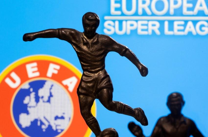 Football : L'UEFA suspend la procédure contre les derniers rescapés de la Superligue