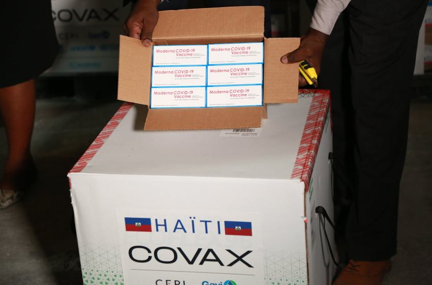 Covid-19 : Offre des États-Unis de 500.000 doses du vaccin Moderna à Haïti.