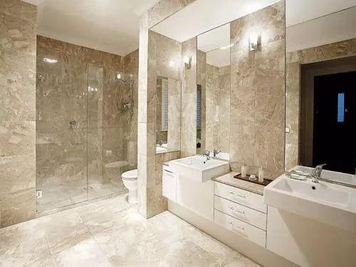 ديكورات حمامات موردن مميزة بالصور