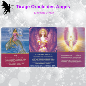 Tirage Oracle des Anges 3 cartes