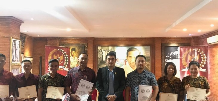 SENATOR RI MINTA KAUM INTELEKTUAL MUDA MENJAGA NILAI-NILAI 4 KONSENSUS BANGSA INDONESIA