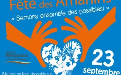 L'UA sera présente à la fête des Amanins le samedi 23 septembre