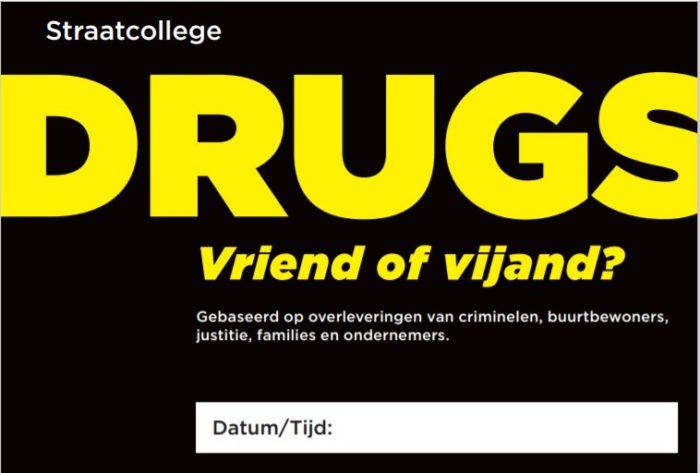 Straatcollege drugs het andere verhaal