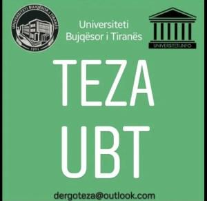 TEZA MATEMATIKE / UBT