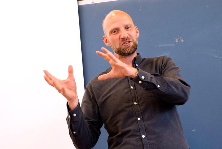 Claus Auning, , kickoff, universitetsskolen