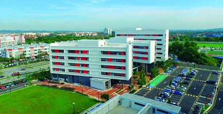 Aerial view of Subang 2 campus