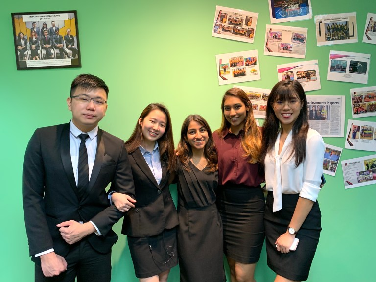 Five outstanding students win scholarships to pursue their dreams at the University of Queensland