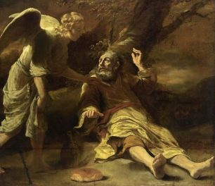 St Elijah and the Hearth Bread