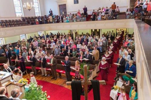 Worship at University Baptist Church