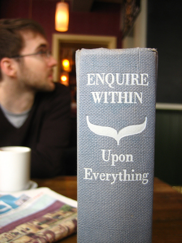 Enquire Within Upon Everything (photo by adactio)
