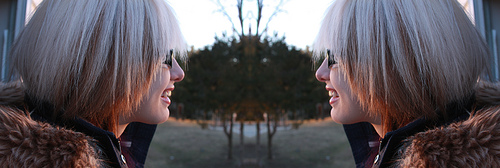 Seeing double? (photo by bananabren)