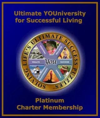 Platinum Charter Membership - One option of Charter Memberships