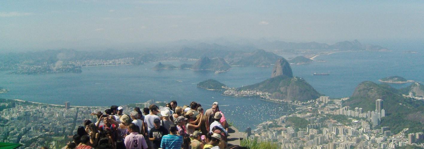 View from Corcovado (Rio de Janeiro - Brazil)