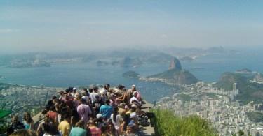 Vista dal Corcovado (Rio de Janeiro - Brasile)