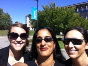 (left to right) Katie Dzugan, Humera Fasihuddin & Leticia Britos Cavagnaro; Olin College 2014