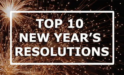 Top 10 new year's resolutions