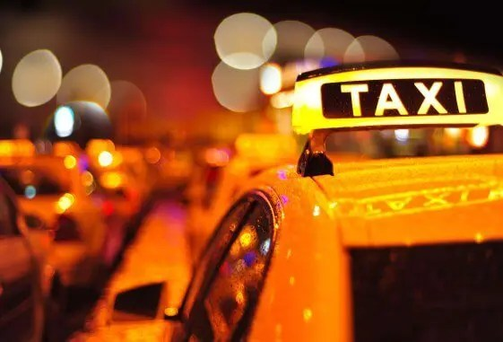Yellow Taxi New Year City
