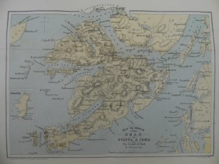 Map of Mull and Iona : Sp Coll BG53-i.1