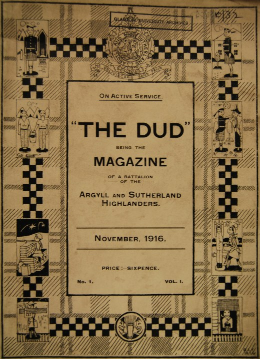 """The Dud"", Vol. 1, Issue 1, November 1916. DC 32/10/32"